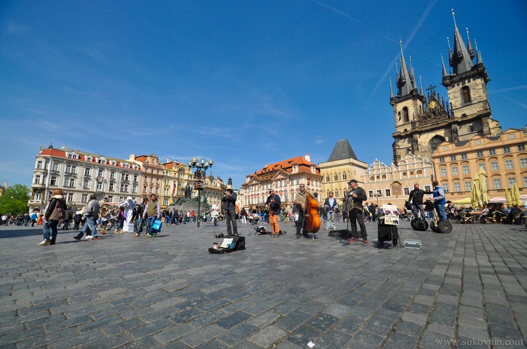 Площадь в Праге