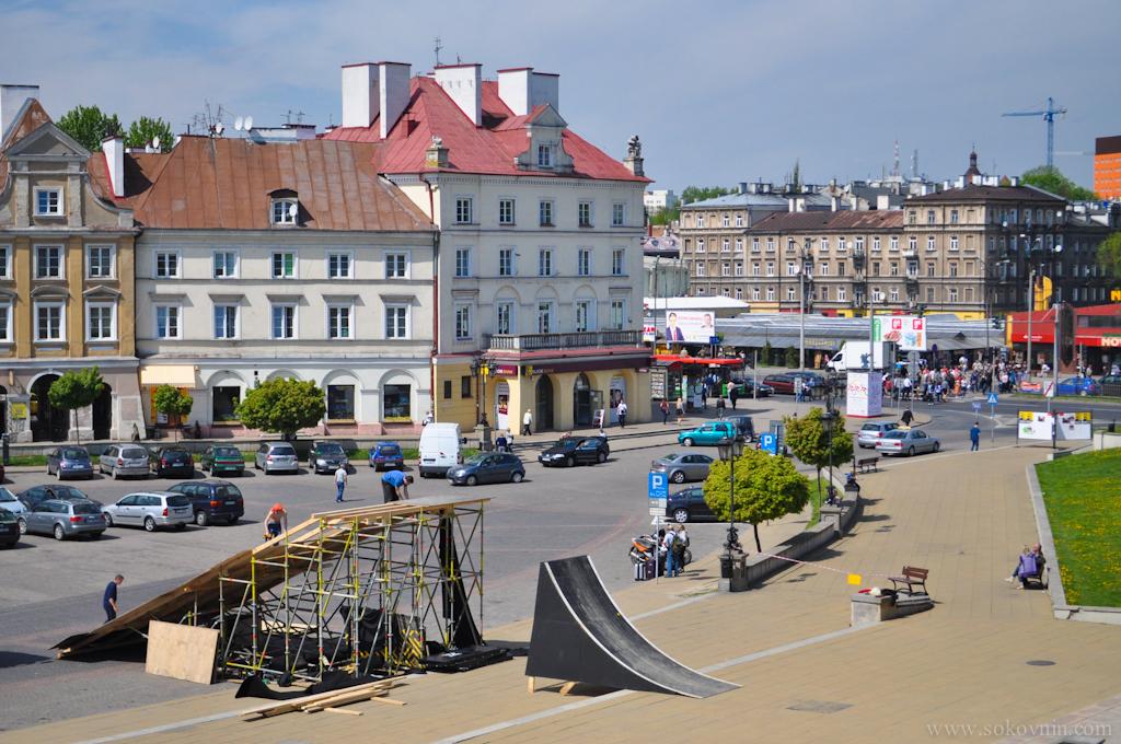 Площадь в Люблине