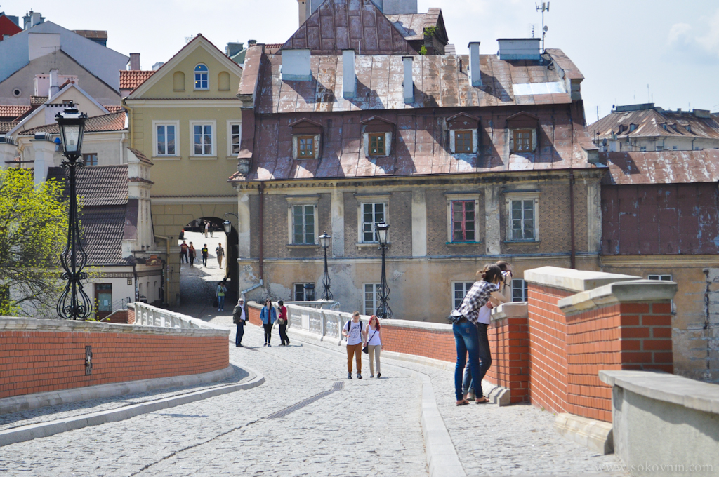 Старый город в Люблине