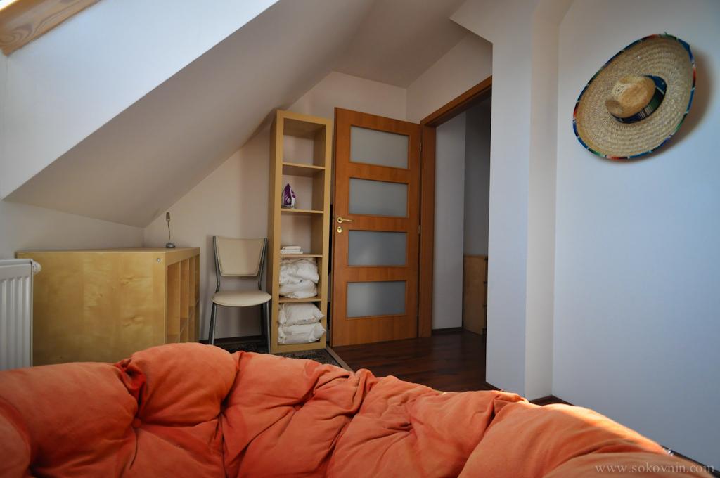 Квартира в Праге, второй этаж