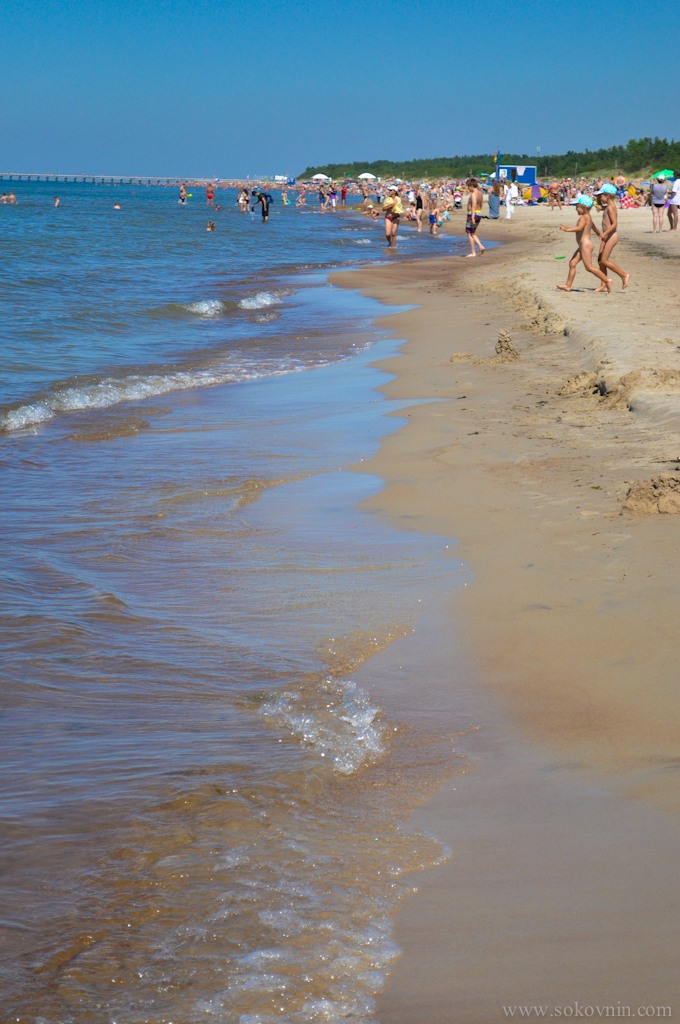 Пляж в Литве