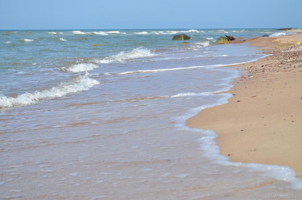 Пологий заход на Балтийском море