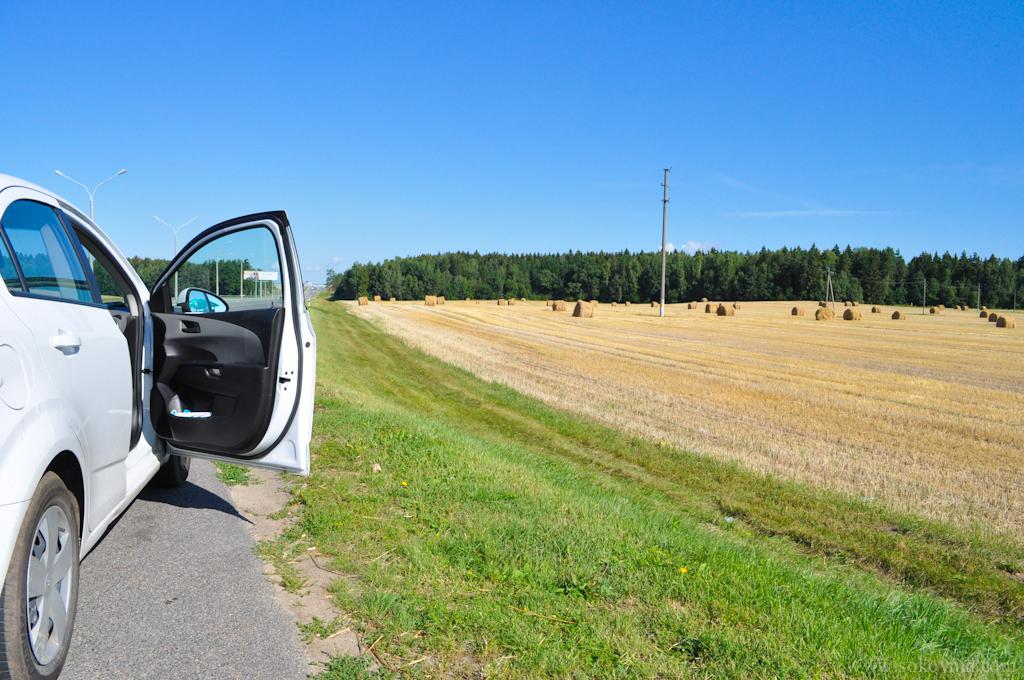 По дороге в Литву