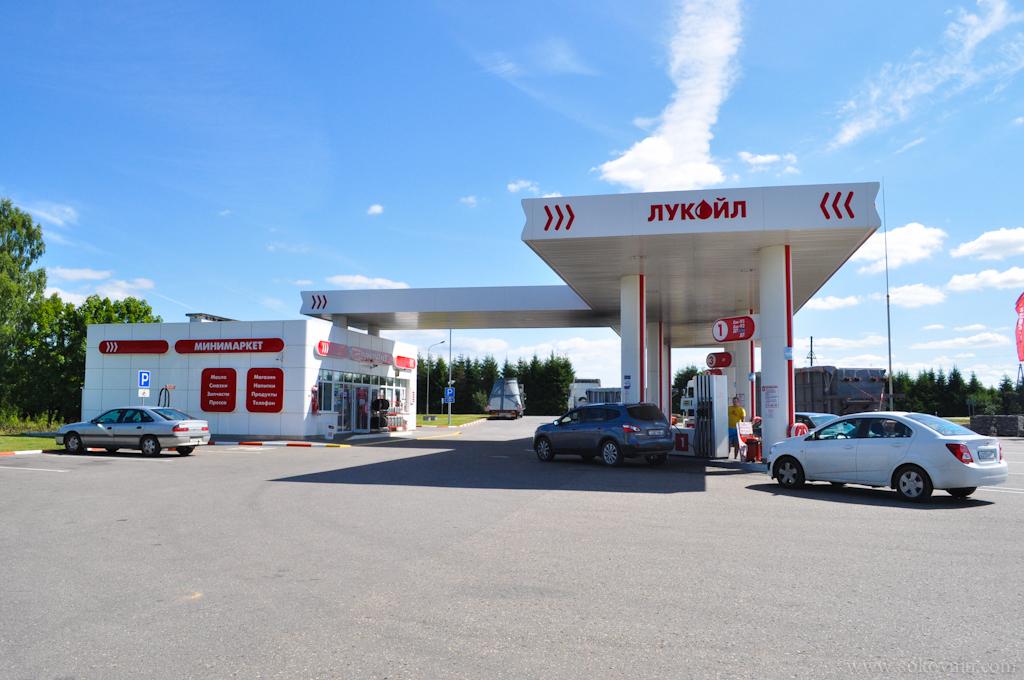 Заправка в Беларуси
