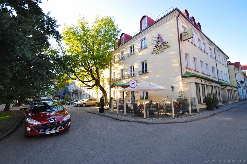 Отель в центре Каунаса