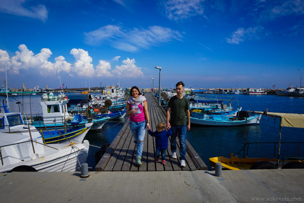 Порт в Ларнаке