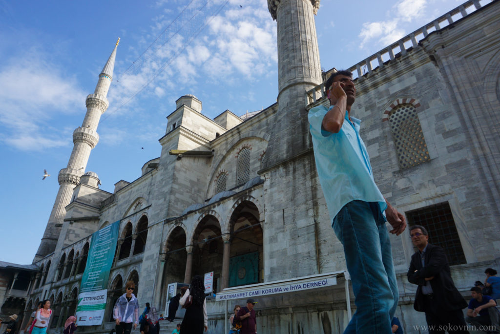 Голубая мечеть в Стамбуле (мечеть Султанахмет)
